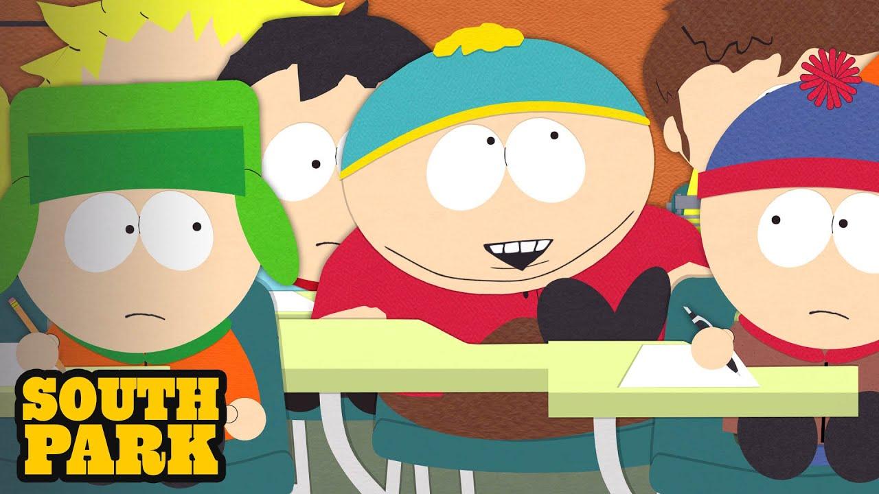 Cartman Has Tourette's Syndrome - SOUTH PARK