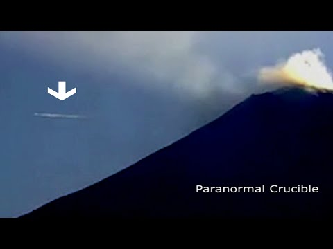 Mexico Volcano Buzzed By UFO?