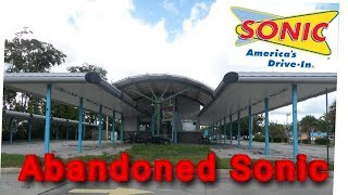 Abandoned Sonic Drive In Crystal River FLA