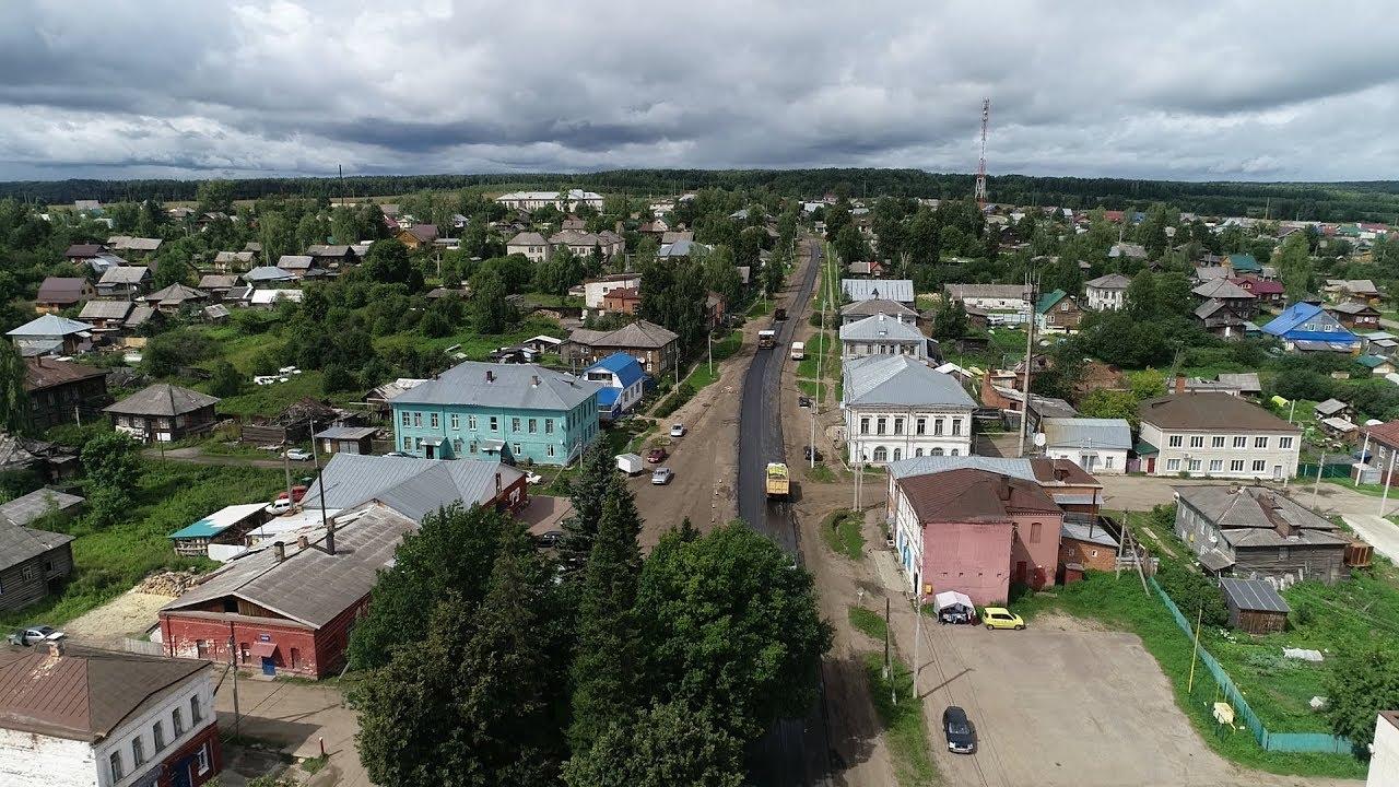В Парфеньеве начался ремонт главной улицы села