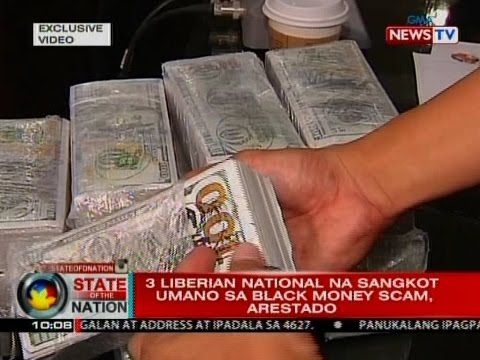 SONA: 3 Liberian national na sangkot umano sa black money sc