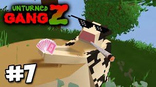 Unturned GangZ #7 - WEEKEND AT BOVINES!