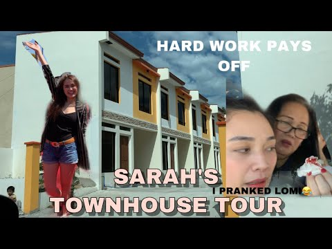 TEAM TARAH VLOG # 26 EMPTY TOWNHOUSE TOUR | I PRANKED SARAH'S MOM