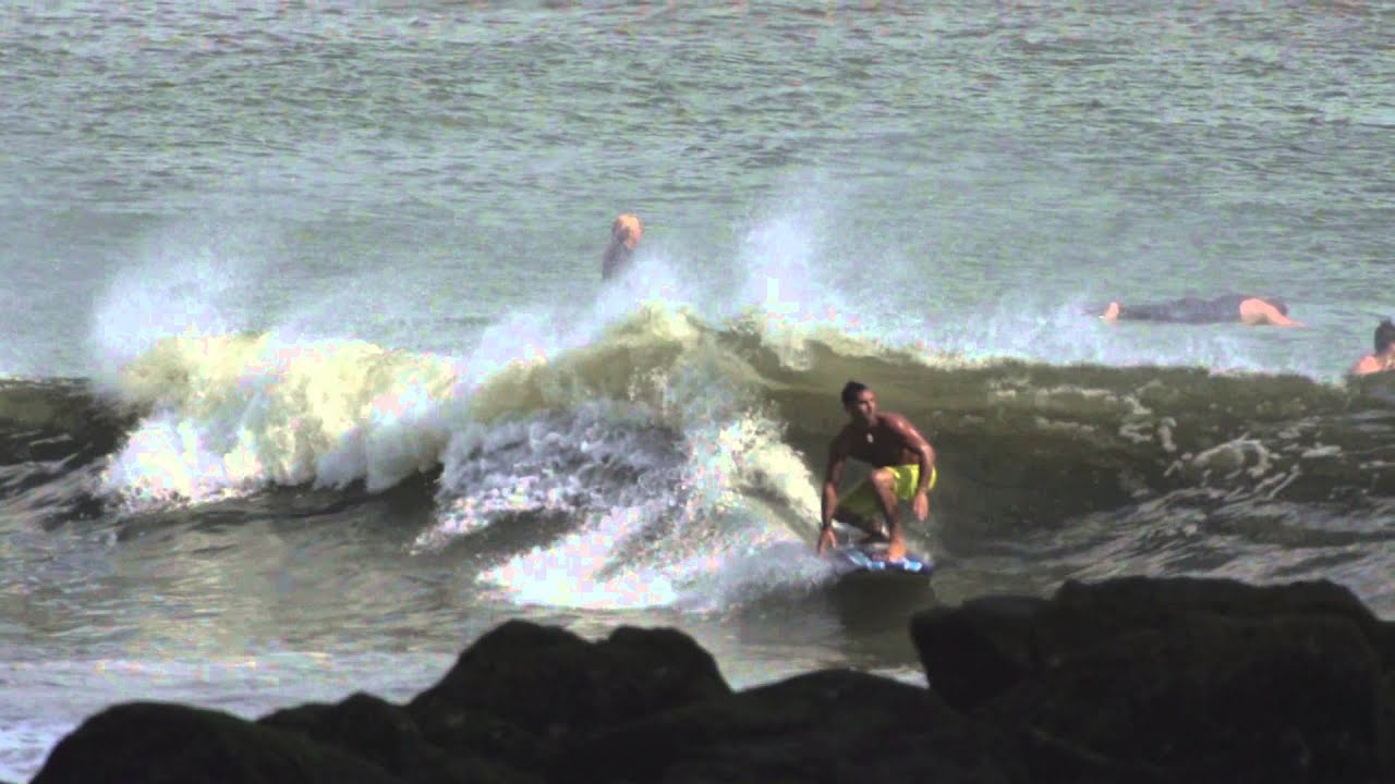Long Beach slow motion surfing 3