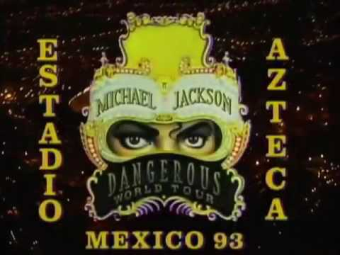 Michael Jackson - Live in Mexico 1993 (DVD) - DWT Short - HD