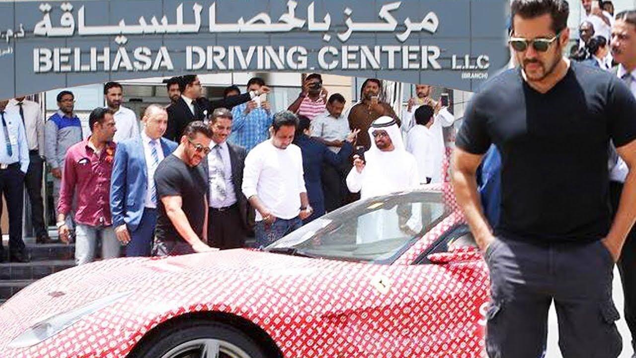 Salman Khan Launches Belhasa Driving Centre In Dubai