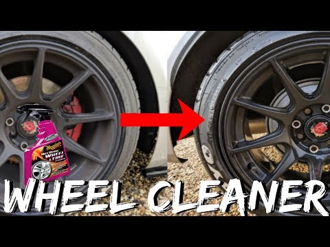 BEST WAY TO CLEAN WHEELS + TYRES?? // MEGUIARS HOT RIMS TEST