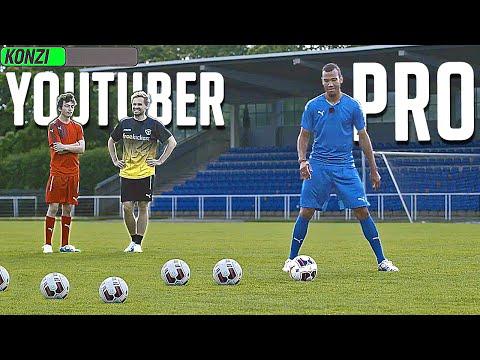 FOOTBALL CHALLENGE • PRO vs YOUTUBER w/ CHOUPO MOTING