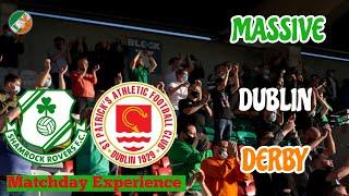 Shamrock Rovers 3-1 St.Patricks Athletic - Huge Dublin Derby - Matchday Vlog