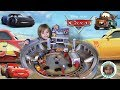 Real Wood Cars 3 Florida Race track Table Stop Motion Unboxing KidKraft