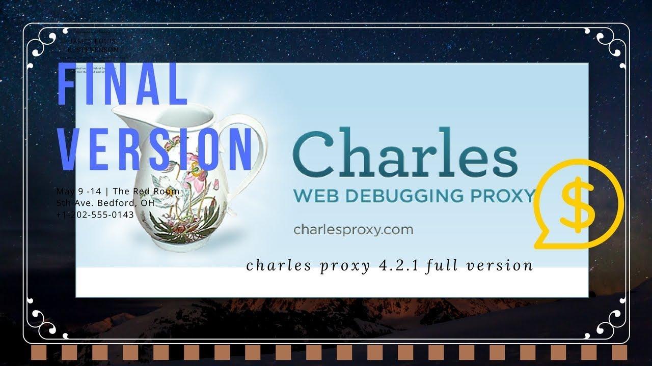 Charles Proxy Msp