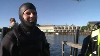 Dykkernes morgensvømning (3 af 5)