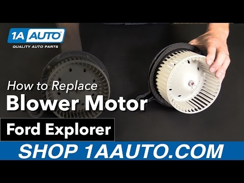 How to Replace Blower Motor 06-10 Ford Explorer