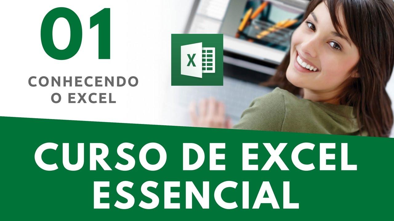 Curso excel aula 01 introdu o ao excel youtube for Curso de interiorismo online gratis