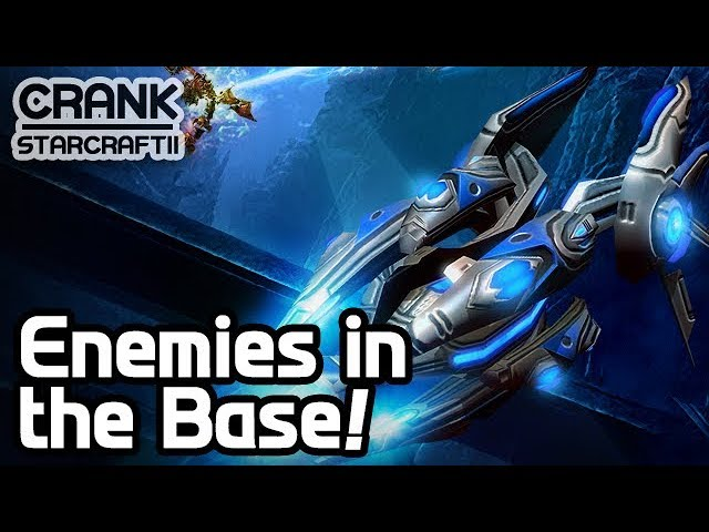 Enemies in the Base! 2v2v2v2 Battle - StarCraft 2