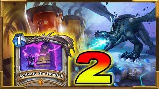 Hearthstone: Quest Control Resurrect Priest Is The Best Deck Part 2 | Descent of Dragons New Decks
