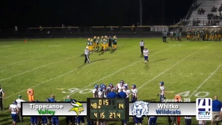 Tippecanoe Valley Varsity Football vs Whitko