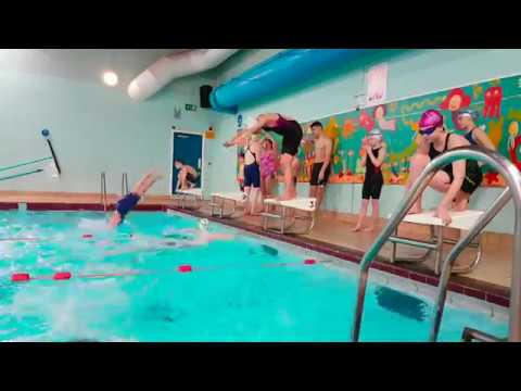 Gerald Sims, head coach of Cwmbran Otters Swimming Club