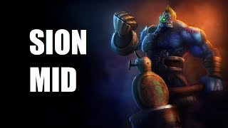 League of Legends - AP Sion Mid - Full Game Commentary