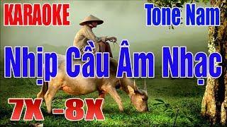 LK Nhạc Sống Nhịp Cầu Âm Nhạc Karaoke | Tone Nam | Thế Hệ 7.8X - Nhạc Sống Thanh Ngân