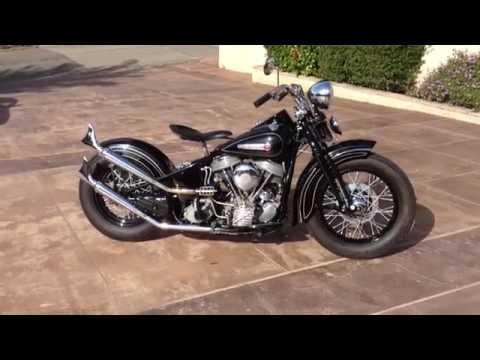 1948 Harley Davidson Panhead Bobber For Sale