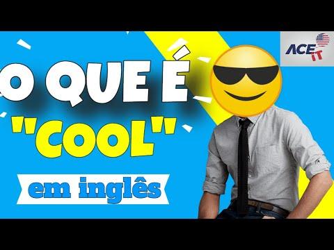 O que quer dizer cool em ingles