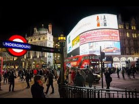 London by night! (PiccadillyCircus, Soho, M&M's store) - Exploring London vlog part1 |sere waldorf