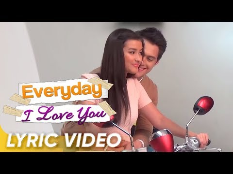 'It Might Be You' lyric video (Official Theme Song of 'Everyday I Love You')