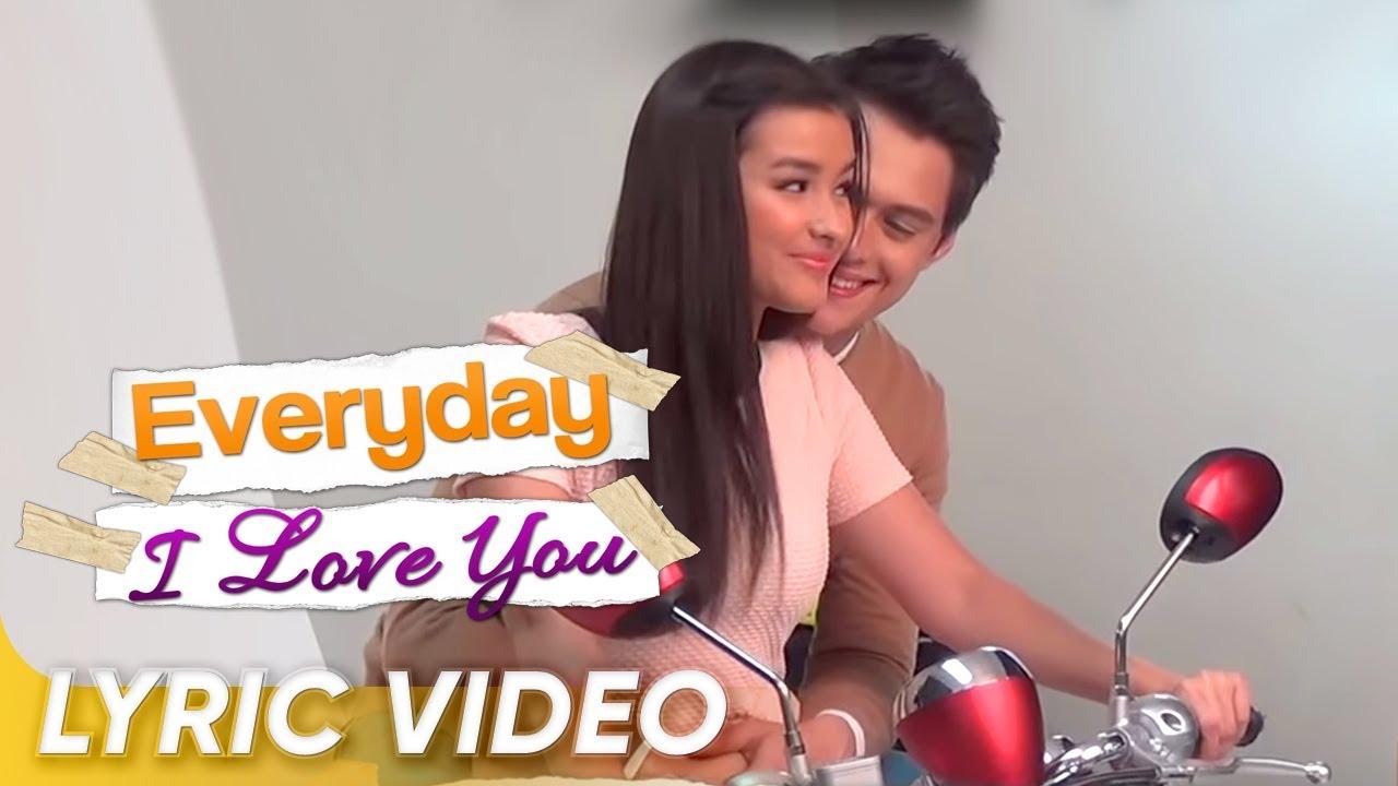 Everyday I Love You Official Trailer Liza Soberano Enrique Gil Everyday I Love You Youtube