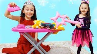 Öykü and Cinderella story for kids - Funny Oyuncak Avı