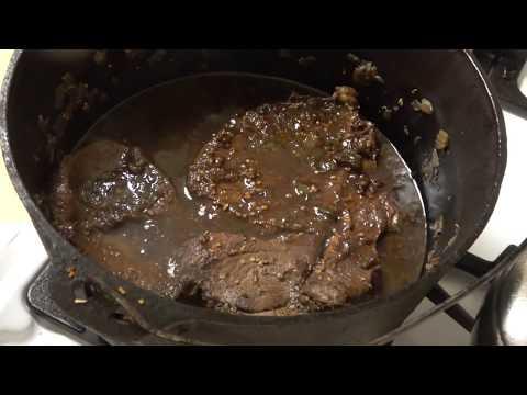 Round Steak In Gravy