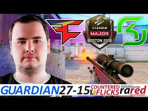 GuardiaN 27-15 / FaZe vs SK / ELEAGUE Boston Major 2018 / Swiss R3