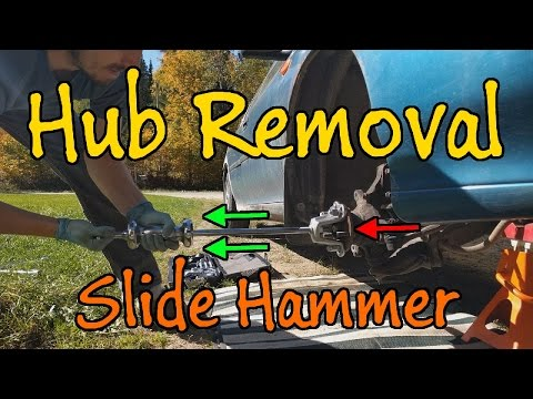 Hub Removal with Slide Hammer, Pull a Hub Without a Press