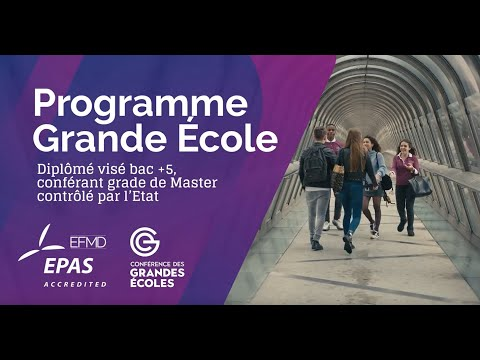 Le Programme Grande Ecole de EDC Paris Business School