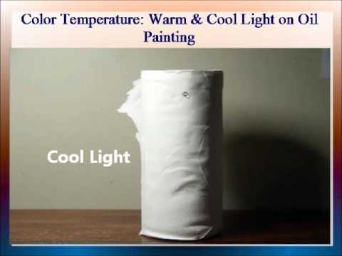 Color Temperature Warm & Cool Light on Oil Painting by PaintingForBeginners.net