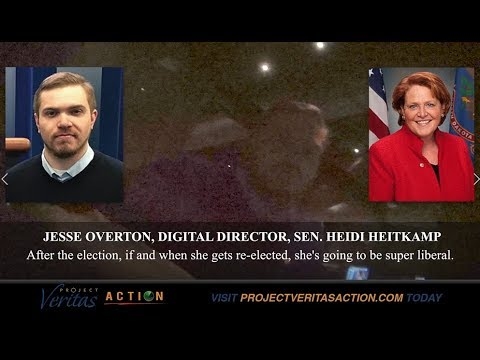 "Sen Heitkamp Dir. Details Bait & Switch ""… when she gets elected she's going to be super liberal."