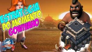 ATAQUE DA MODA GOWIVAHO COM HERÓIS FRACOS - CLASH OF CLANS