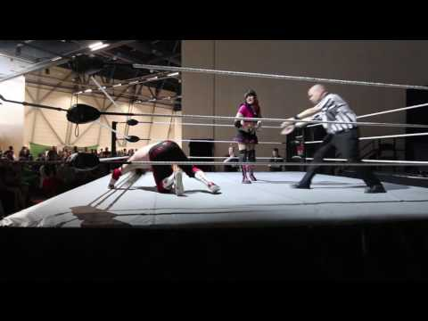 Ropecon 2016 FCF Wrestling Starbuck vs Jessica Love