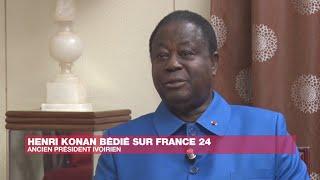 Sur France 24, Henri Konan Bédié confirme sa rupture avec Al…