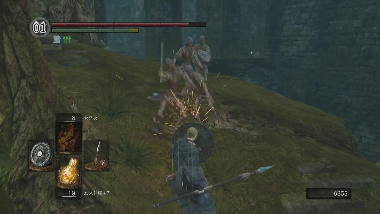 初心者を中級者へと導く Dark Souls ダークソウル で死なない