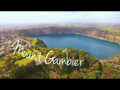 Discovering Mount Gambier. Australian Road Trip