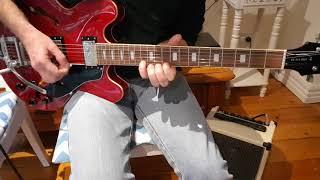 How to Play Midnight Man - Pt2 - Joe Walsh's 2nd guitar part - James Gang