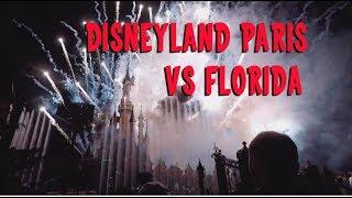 Disneyland Paris vs WDW Magic Kingdom