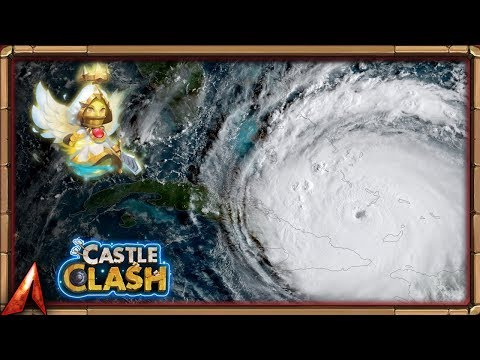 HURRICANE IRMA COMING AT ME! Where I've Been! Castle Clash