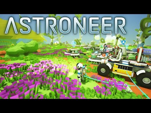 Astroneer - NEW PLANET, New Base Near a Huge, Resource Filled Underground Cave System - Gameplay Ep3