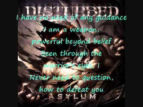 Warrior by Disturbed + lyrics