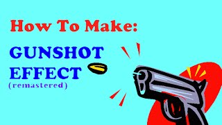 How to make gunshot muzzle flash in Windows Movie Maker