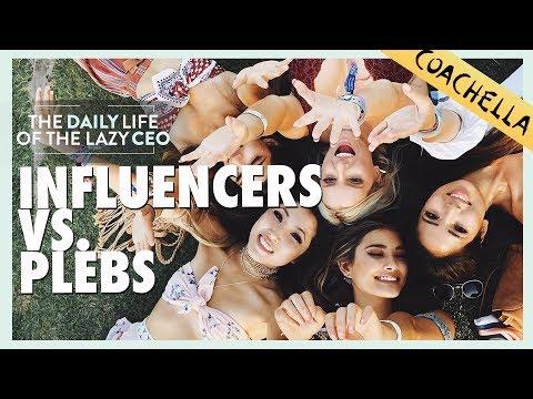 COACHELLA 2018 INFLUENCERS VS  PLEBS | Jane Lu Showpo CEO Daily Vlog #49