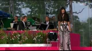 Loreen - My heart is refusing me - Live Crown Princess Victorias birthday 14th of July 2012
