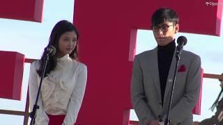 """20131004 부산국제영화제(BIFF) """"동창생"""" 야외무대행사 빅뱅(Big Bang) T.O.P  김유정"""